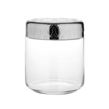 Dressed Glass Jar - M