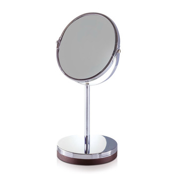 New Combo Mirror - Stainless Steel/Natural Wood