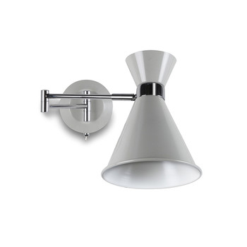 Pelham Wall Mounted Light - Chalk