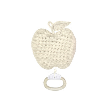Crochet Apple Musical Toy - Nature