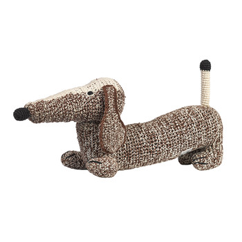 Medium Crochet Dachshund - Choco