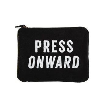 "iPad Pouch - ""Press Onward"""