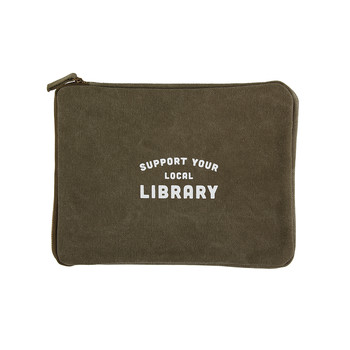 "iPad Pouch - ""Library"""