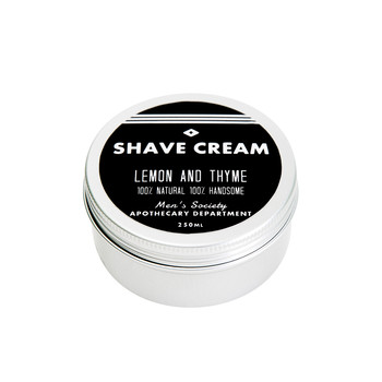 Shave Cream - Lemon & Thyme - 250ml