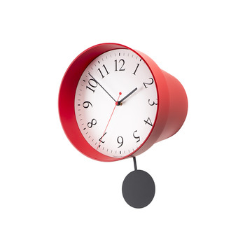 Foradeora Wall Clock - Red