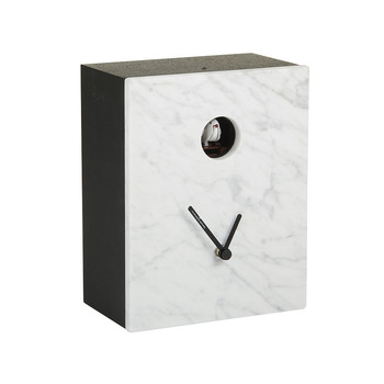 Portobello Clock - Carrara White