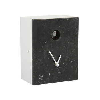 Portobello Clock - Marquina Black