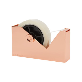 Cube Tape Dispenser - Copper