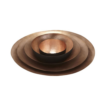 Tall Form Bowl Nest - Copper
