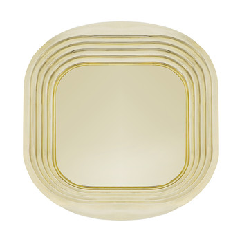 Form Tray - Gold - Square