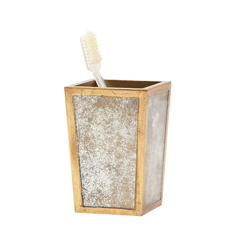 Atwater Toothbrush Holder - Antiqued Gold