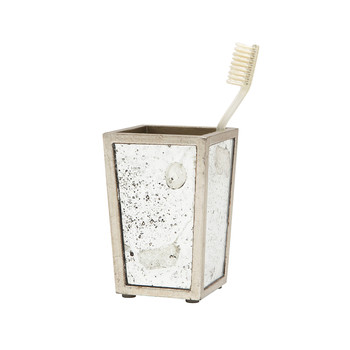 Atwater Toothbrush Holder - Silver Leaf