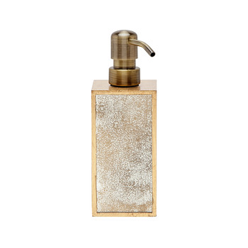 Atwater Soap Pump - Antiqued Gold