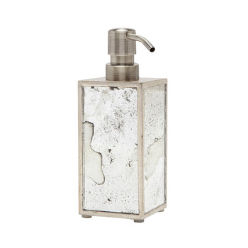 Atwater Soap Pump - Silver Leaf