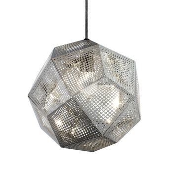 Etch Pendant Light - Steel