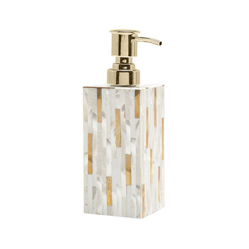 Cortona Soap Pump - Brass Mix