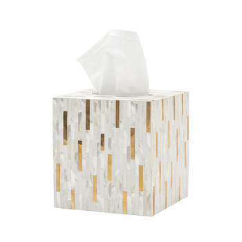 Cortona Tissue Box - Brass Mix