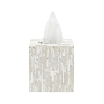 Cortona Tissue Box - Silver Mix