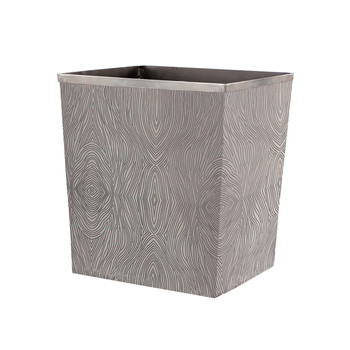 Humbolt Rectangular Waste Bin - Black Nickel