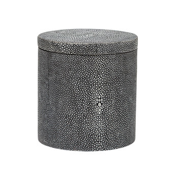 Manchester Round Canister - Grey