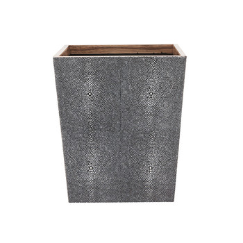 Manchester Rectangular Waste Bin - Grey