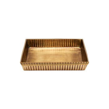 Redon Soap Dish - Antique Brass