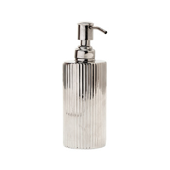 Redon Soap Pump - Shiny Nickel