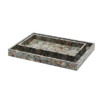 Sitges Tray Blue Shell