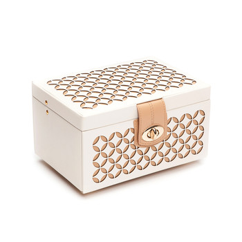 Chloe Cream Jewelry Box