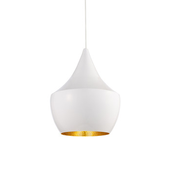 Beat Pendant Light - Fat - White