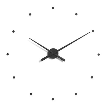 Large OJ Clock - Black