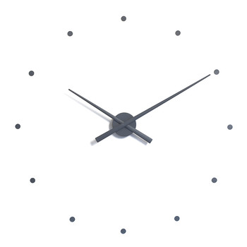 Large OJ Clock - Grey