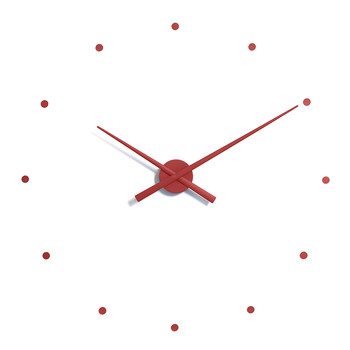 Large OJ Clock - Red