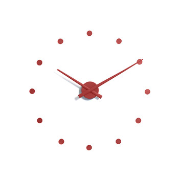 Mini OJ Clock - Red