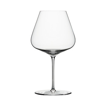 Burgundy Wine Glass