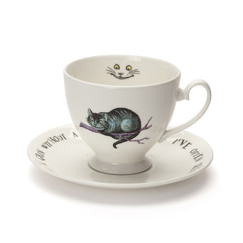 Cheshire Cat Teacup & Saucer