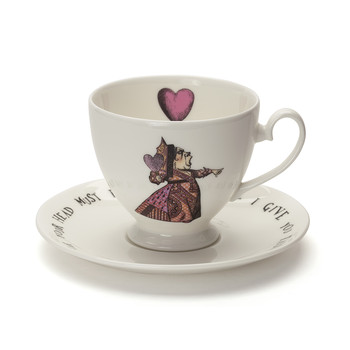 Red Queen Teacup & Saucer