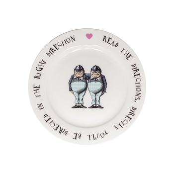 Tweedles Tea Plate
