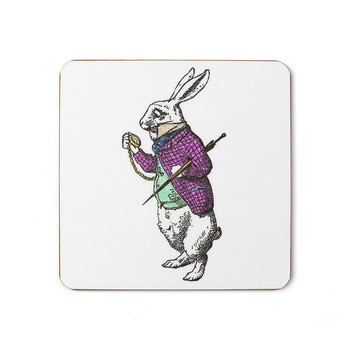 White Rabbit Coaster