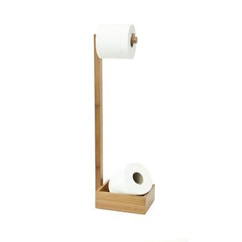 Free Standing Toilet Roll Holder - Arena Bamboo