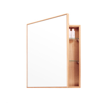 Slimline Bathroom Cabinet - Oak