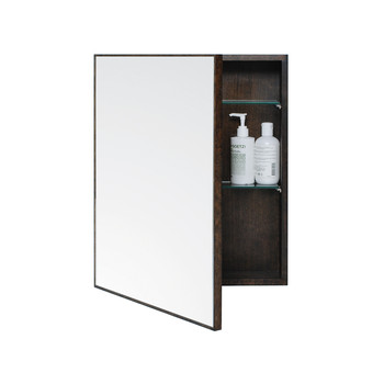 Slimline Bathroom Cabinet - Dark Oak