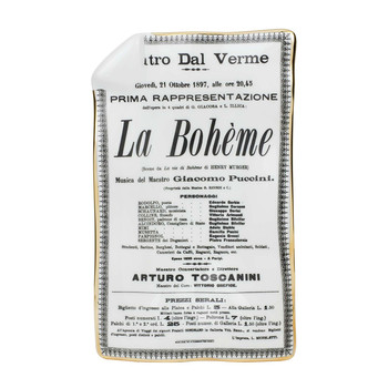 Locandina La Boheme Sheet Ashtray/Trinket Tray