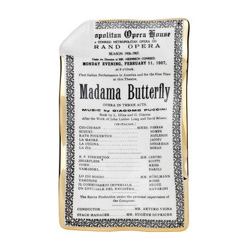 Locandina Madame Butterfly Sheet Ashtray/Trinket Tray