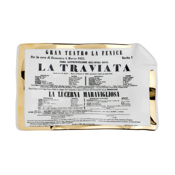 Locandina La Traviata Sheet Ashtray/Trinket Tray