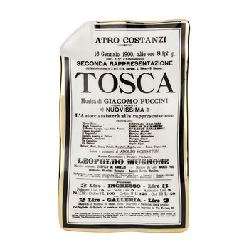 Locandina Tosca Sheet Ashtray