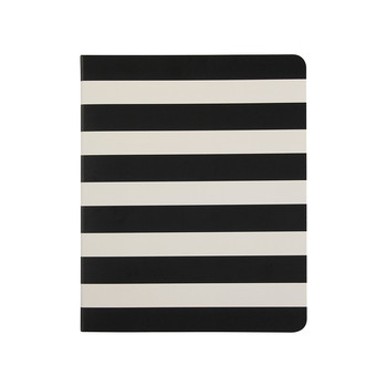 Small Spiral Notebook - Black Stripe