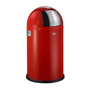 Pushboy Junior Abfalleimer - 22 L - Rot