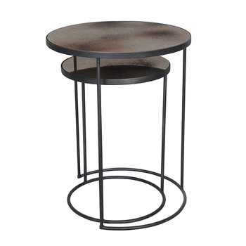 Lot pour Table d'Appoint - Bronze