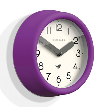 The Pantry Wall Clock - Purple Pie